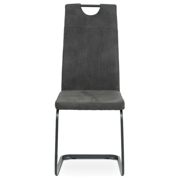 Jedálenská stolička EVELYN sivá 2