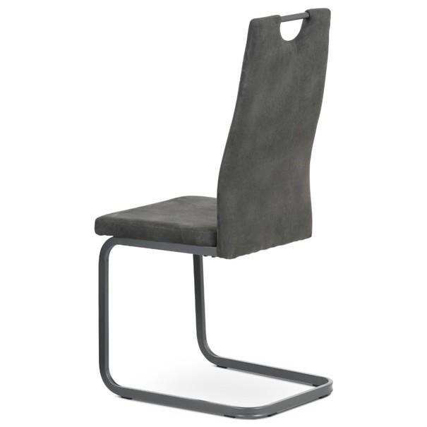 Jedálenská stolička EVELYN sivá 4