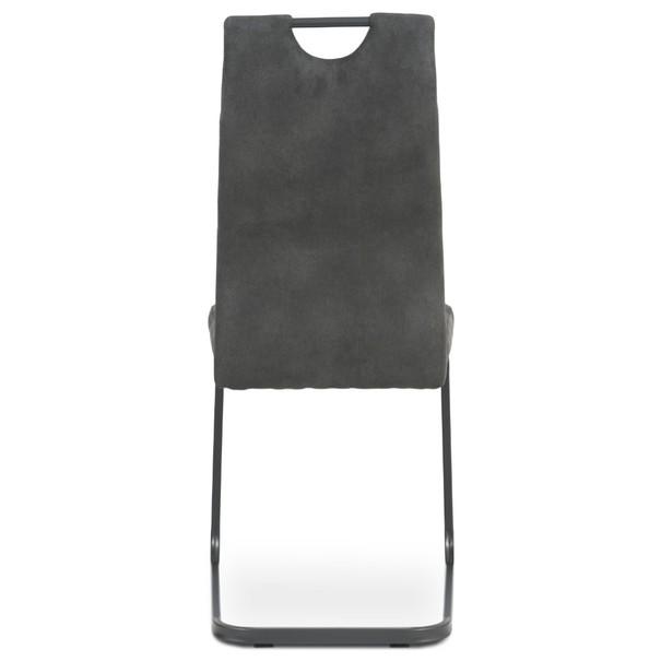 Jedálenská stolička EVELYN sivá 5
