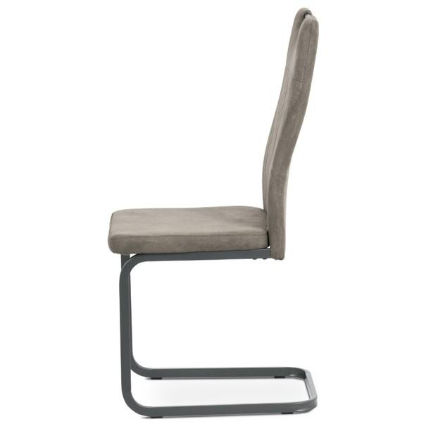 Jídelní židle EVELYN hnědá/šedá 3
