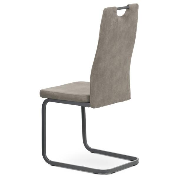 Jídelní židle EVELYN hnědá/šedá 4