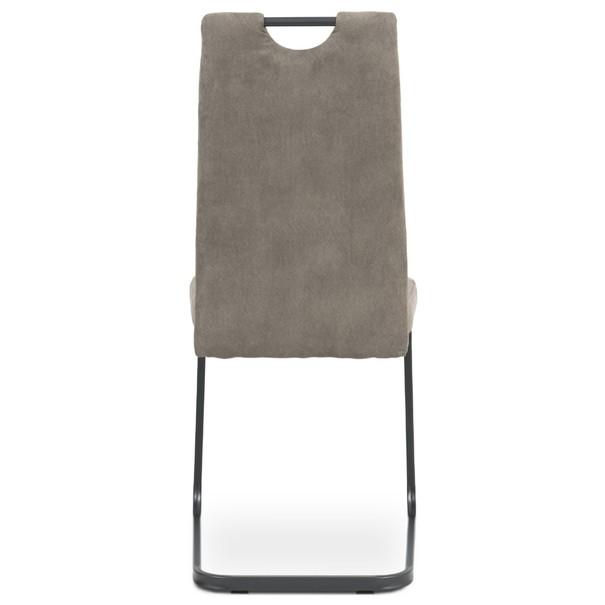 Jídelní židle EVELYN hnědá/šedá 5