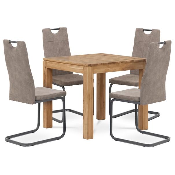 Jedálenská stolička EVELYN hľuzovková/sivá 2