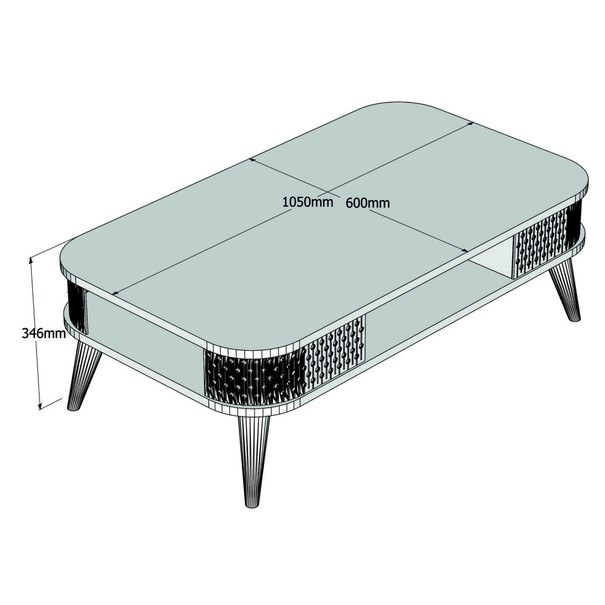 Konferenční stolek  EYLÜL dub 4