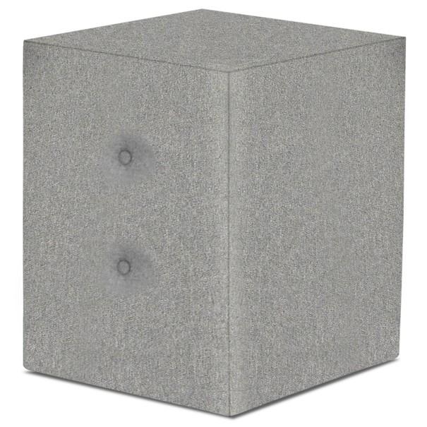 Noční stolek FABBY šedozelená 1