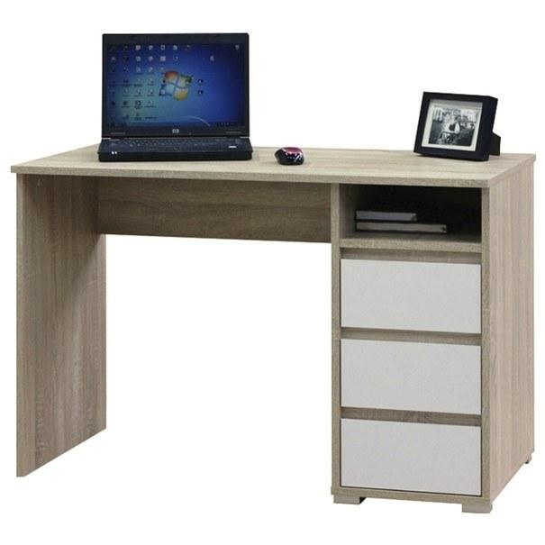 Psací stůl FABIO 1 dub sonoma/bílá 1