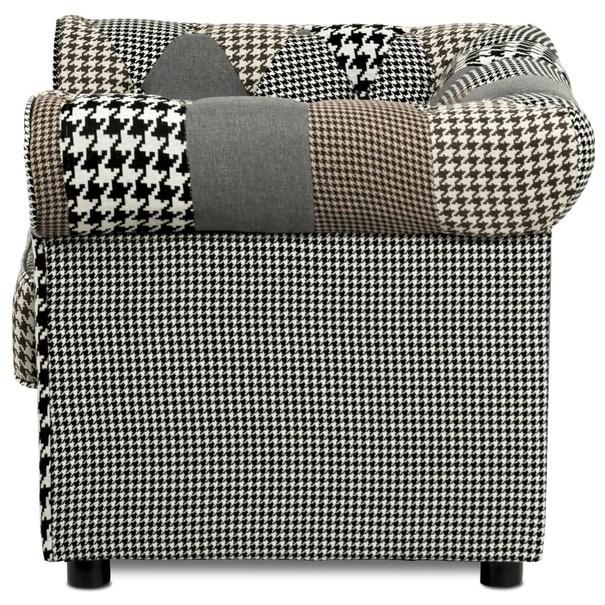 Kreslo FALCO patchwork 5
