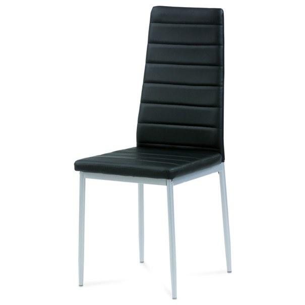 Jedálenská stolička FATIMA čierna 1