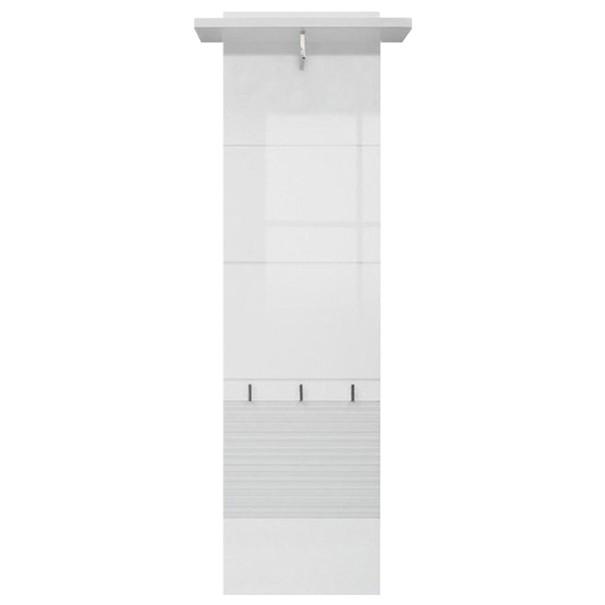 Predsieňový panel FELINO 15 biela/vysoký lesk 1