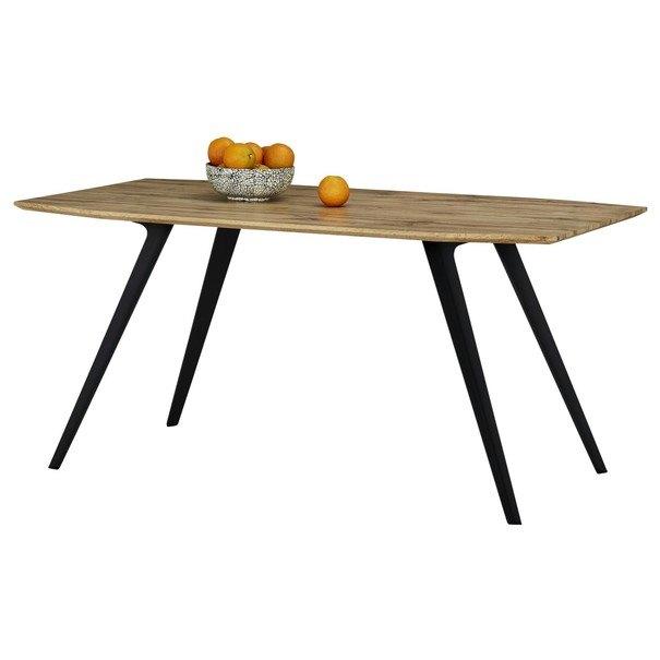 Jedálenský stôl FELIX dub/kov 6