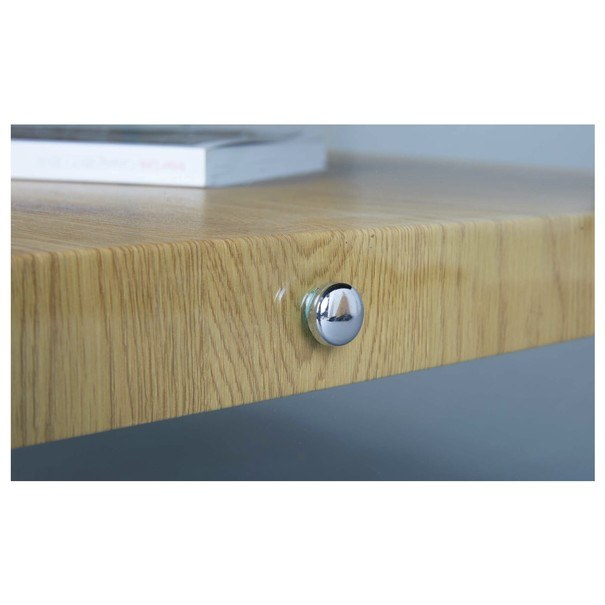 Konferenčný stolík FESTINA divoký dub/sklo 3