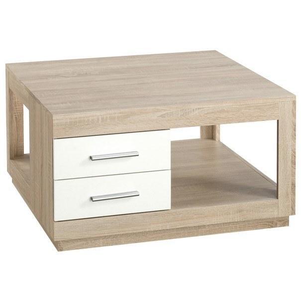 Konferenční stolek FESTIVAL dub sonoma/bílá 1