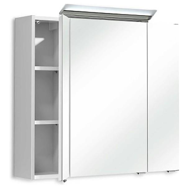 Zrcadlová skříňka s osvětlením FILO 040 bílá vysoký lesk 3