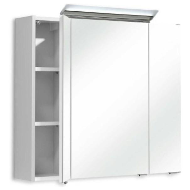 Zrcadlová skříňka s osvětlením FILO ORIA III bílá 2