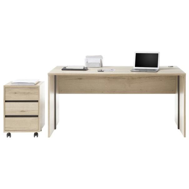 Písací stôl FJORD dub cleveland 2