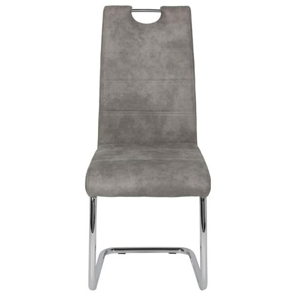 Jídelní židle FLORA II S šedá 2