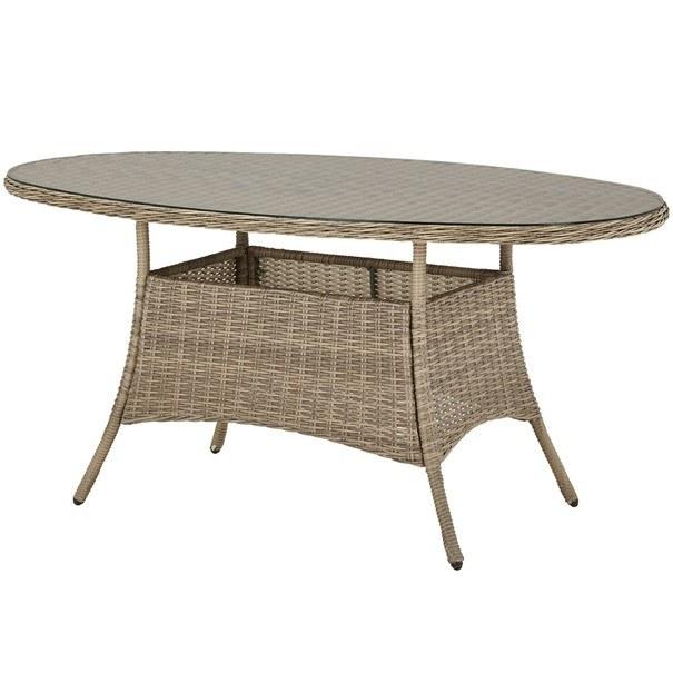 Zahradní stůl FLORENZ2 oválný, šířka stolu 161 cm 1