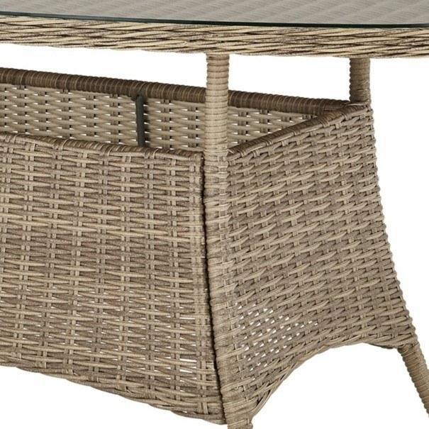 Zahradní stůl FLORENZ2 oválný, šířka stolu 161 cm 4