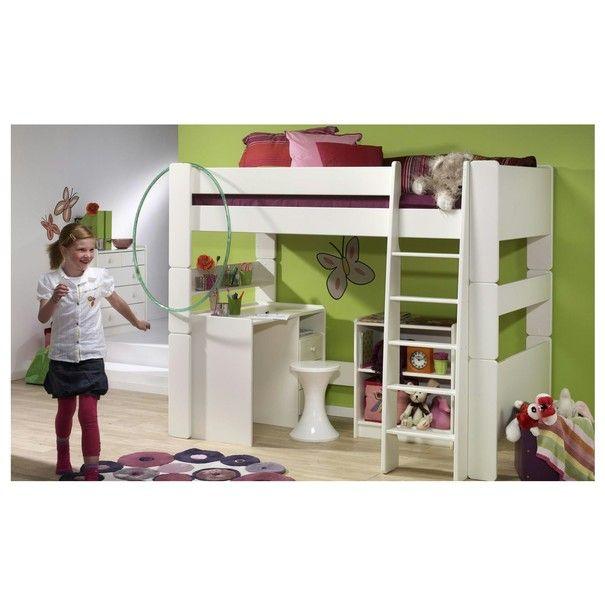 Poschodová posteľ FOR KIDS 614 biela, 90x200 cm 2