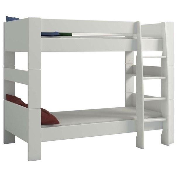 Patrová postel FOR KIDS 615 bílá, 90x200 cm 1