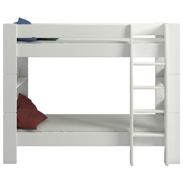 Poschodová posteľ FOR KIDS 615 biela, 90x200 cm 2