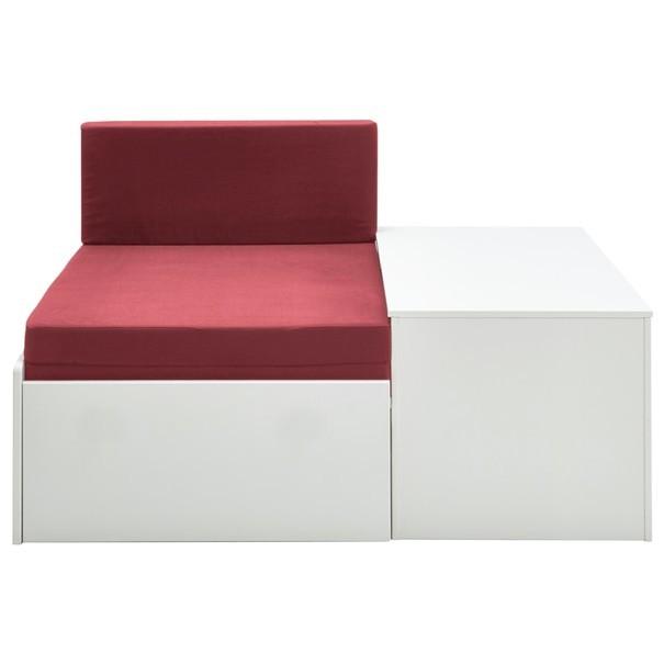 Rozkladacia posteľ s perinákom FOR KIDS 631 biela, 75x180 cm 1