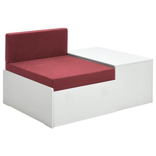 Rozkladacia posteľ s perinákom FOR KIDS 631 biela, 75x180 cm 4