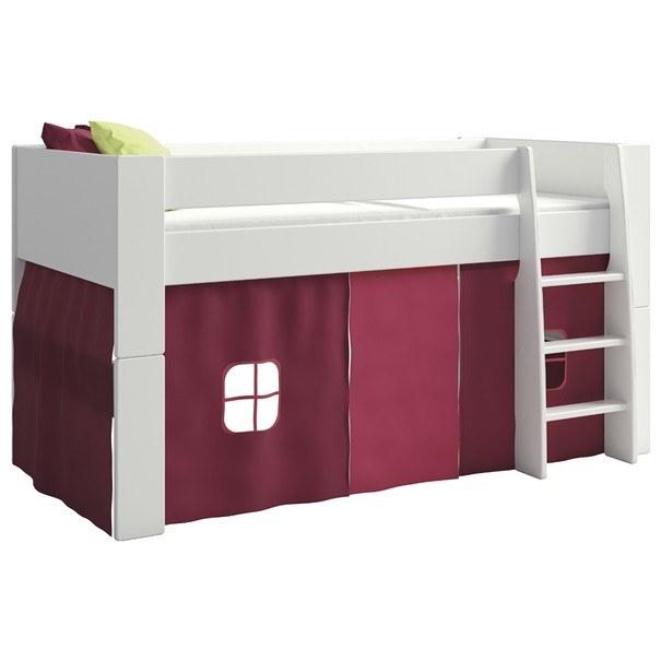 Textilní domeček FOR KIDS růžová 1