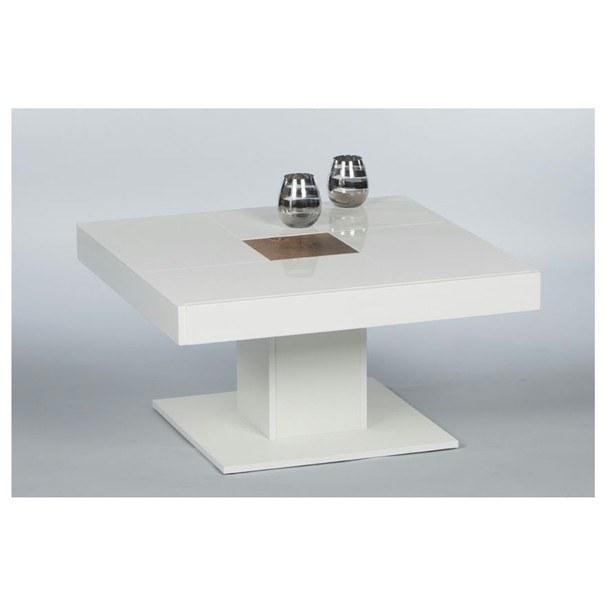 Konferenčný stolík FOREST biela matná/dub 1