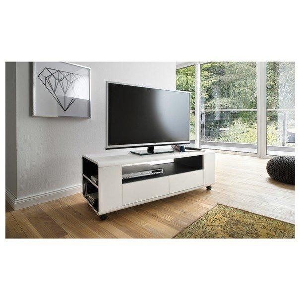 TV stolek FRANCO bílá 2