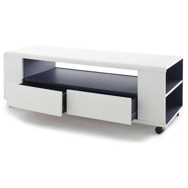 TV stolek FRANCO bílá 3