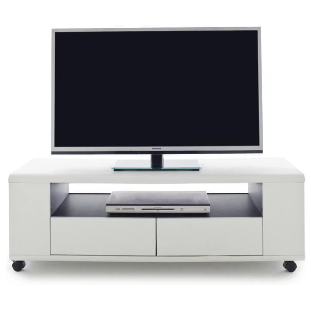 TV stolek FRANCO bílá 4
