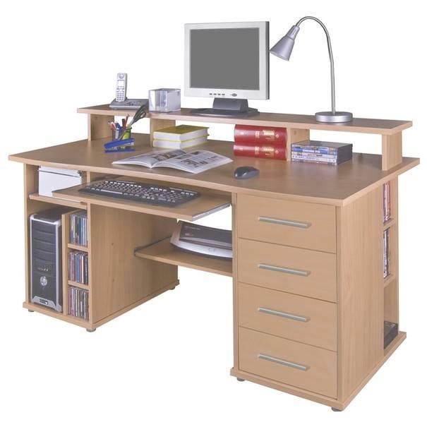 PC stôl  FRANZ buk 1