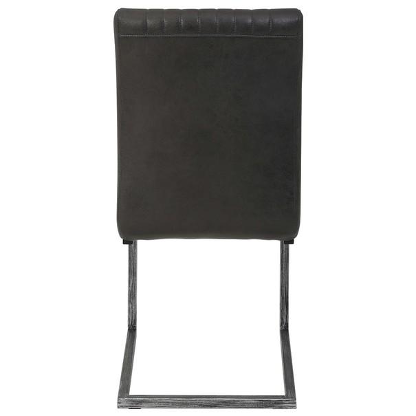 Jedálenská stolička FRANZISKA S antracitová 4
