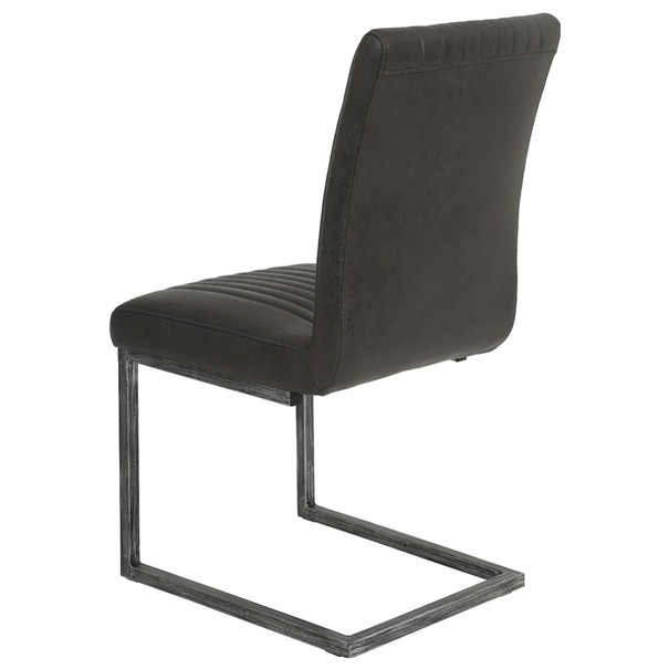 Jedálenská stolička FRANZISKA S antracitová 5
