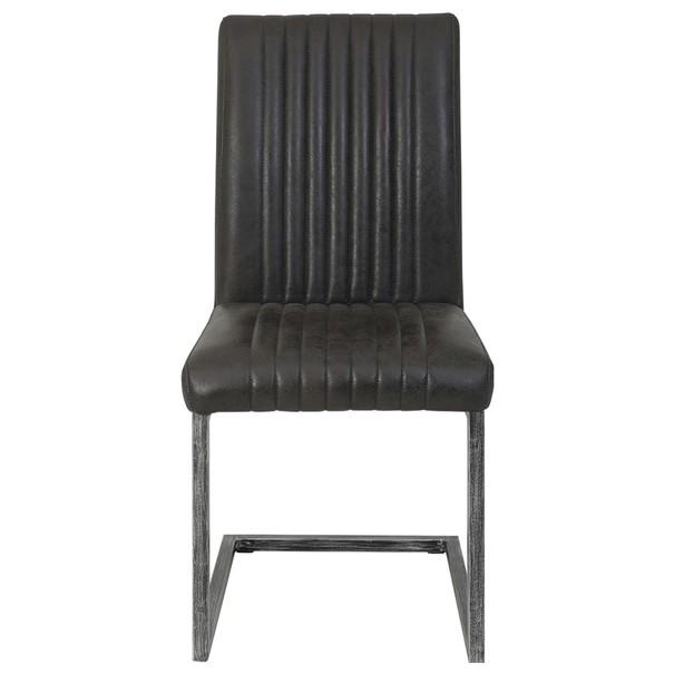 Jedálenská stolička FRANZISKA S antracitová 6