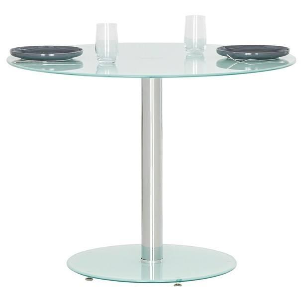 Jídelní stůl FRED sklo/kov 2