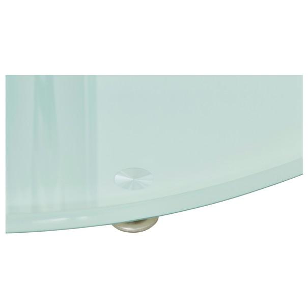 Jídelní stůl FRED sklo/kov 4