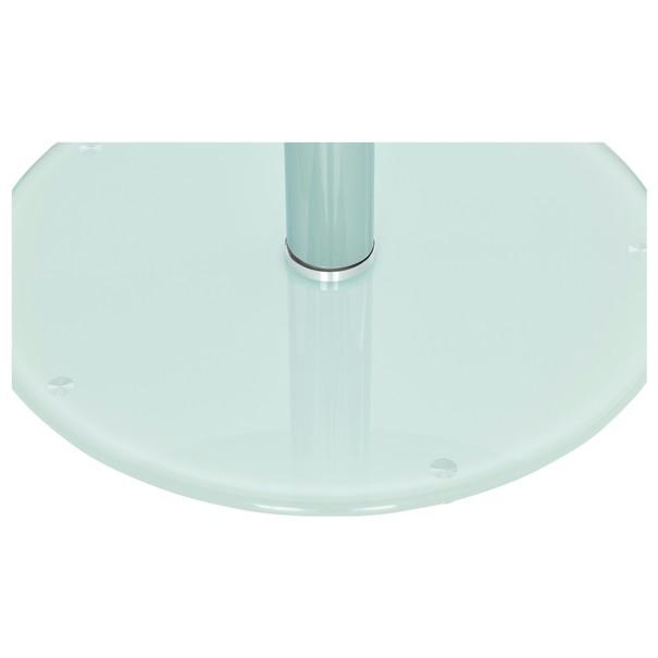 Jídelní stůl FRED sklo/kov 5