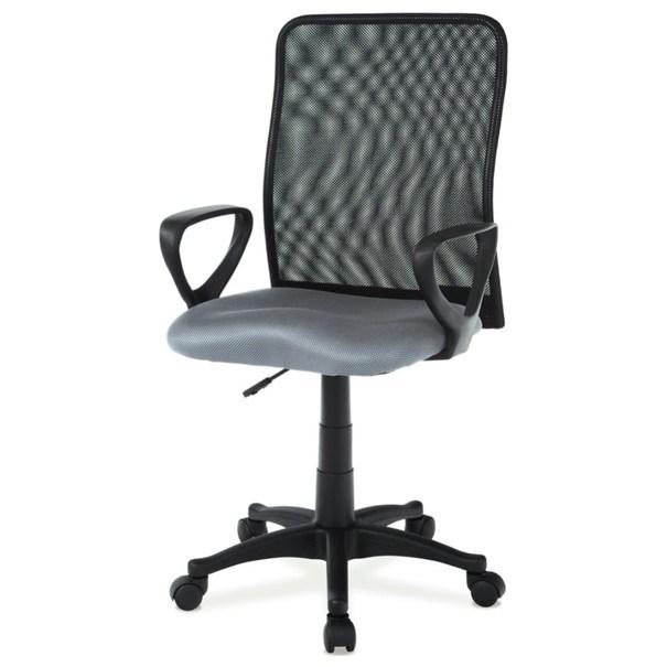 Kancelářská židle FRESH šedá/černá 1