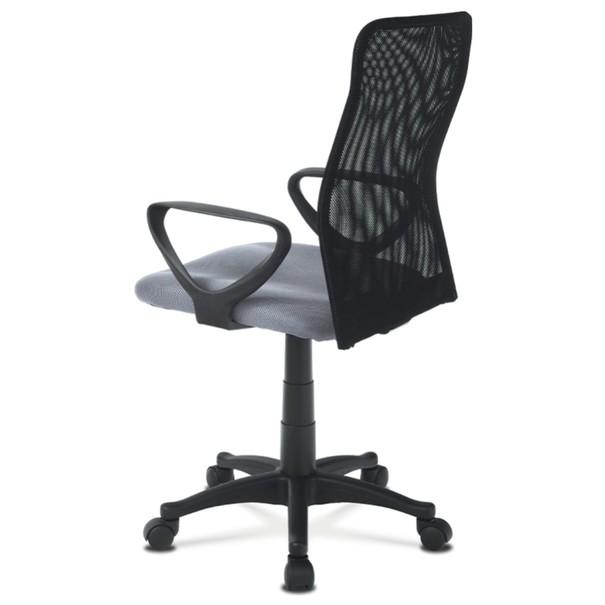 Kancelářská židle FRESH šedá/černá 4