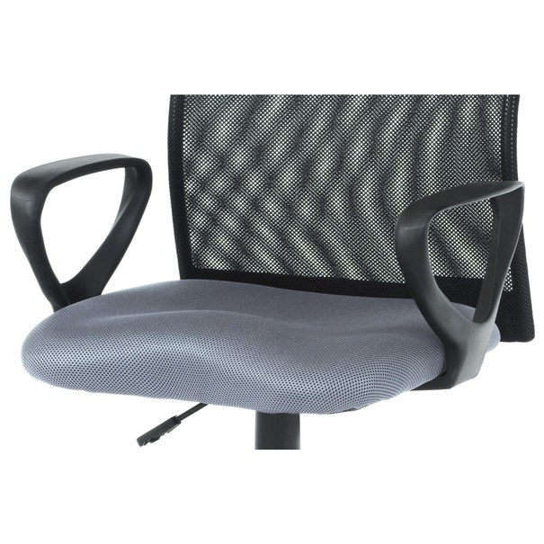 Kancelářská židle FRESH šedá/černá 7