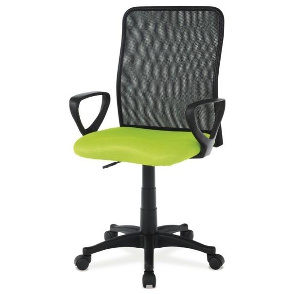 Kancelářská židle FRESH zelená/černá 1