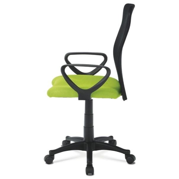 Kancelářská židle FRESH zelená/černá 3