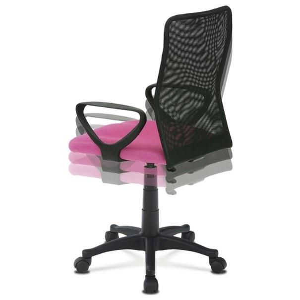 Kancelářská židle FRESH růžová/černá 5