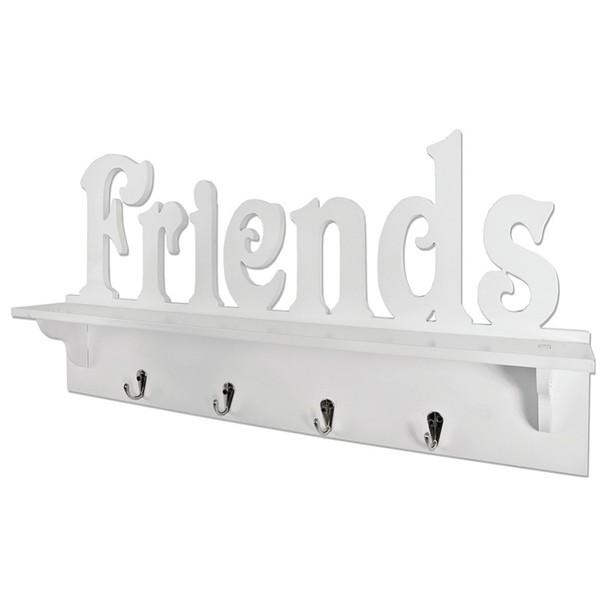 Věšák na kabáty FRIENDS bílá 1