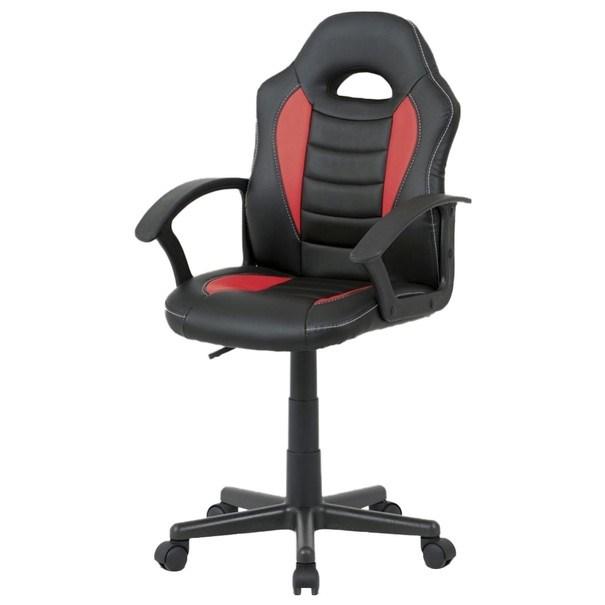 Kancelářská židle FRODO černo-červená 1