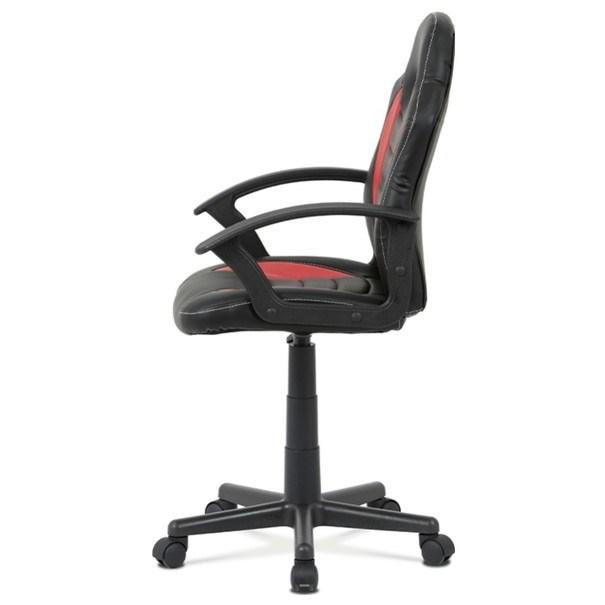 Kancelářská židle FRODO černo-červená 3