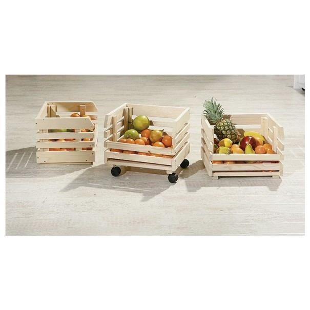 Regál FRUITS přírodní jedle 3