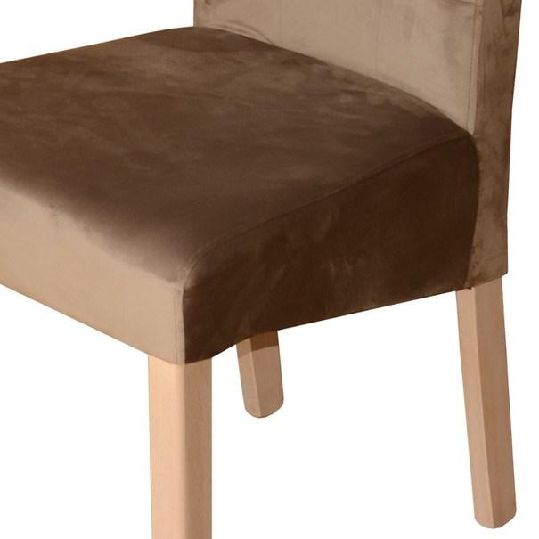 Jídelní židle FUCHSIA hnědá/dub 3